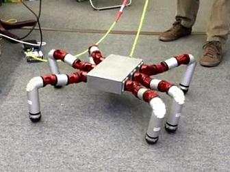 20150501クモ型ロボット(米・バイオロボティクス研究所)