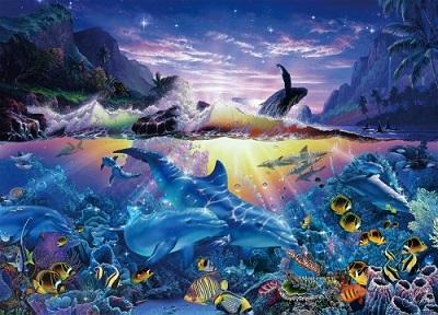 クリスチャン・ラッセンの海洋絵画