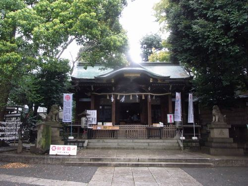 中目黒八幡神社10