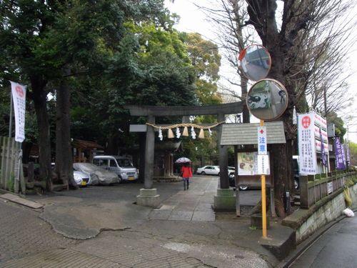 中目黒八幡神社11