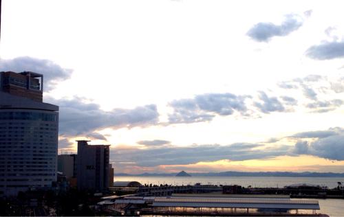 サンポート夕陽