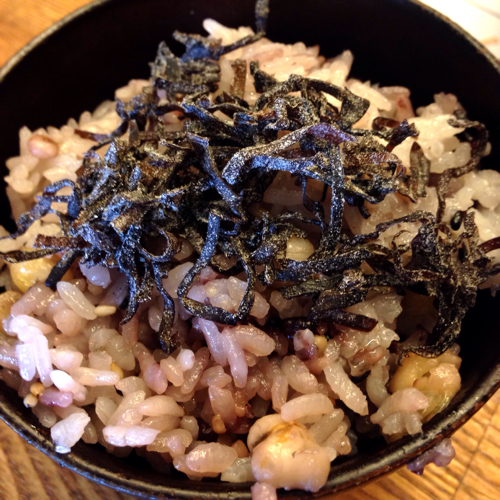 堂の浦 鯛塩ラーメン 替飯