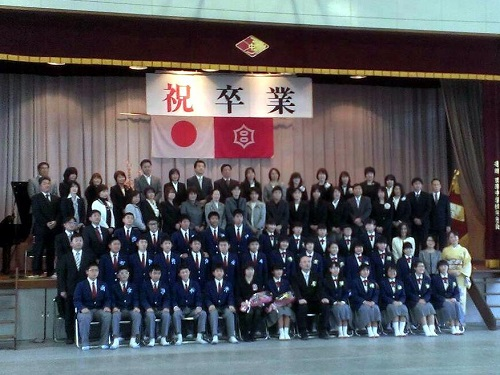宇都宮市立田原中学校≪第68回 卒業証書授与式≫へ!①