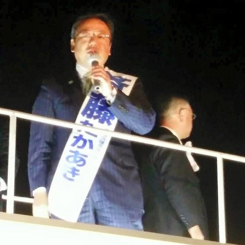 初日の街頭演説会!~2015県議選 告示日~その4①