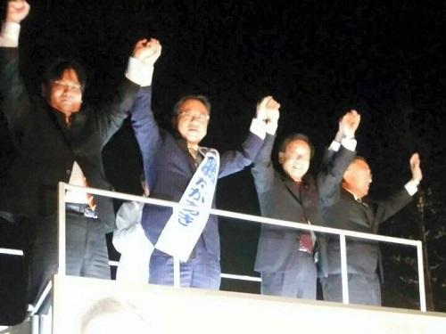初日の街頭演説会!~2015県議選 告示日~その4②
