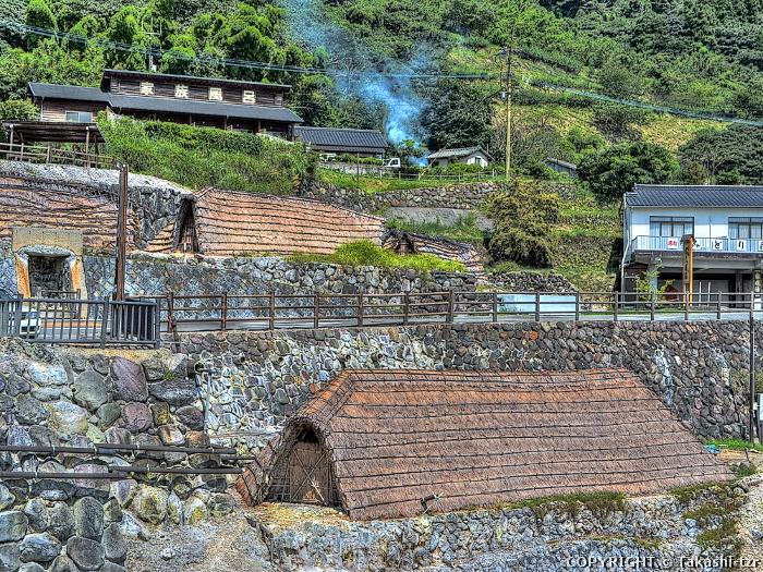 別府の湯けむり・温泉地景観1