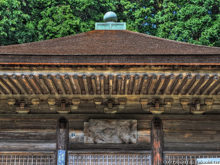 神角寺本堂