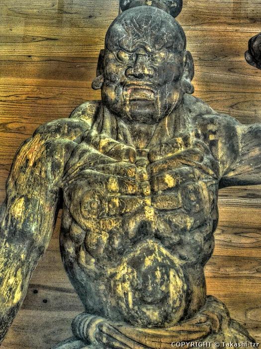 神角寺金剛力士像