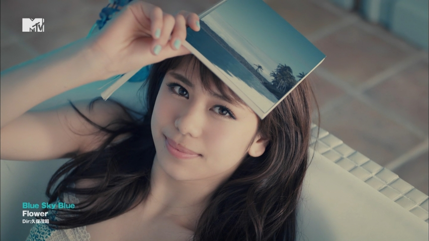 「Blue Sky Blue」Flower 佐藤晴美