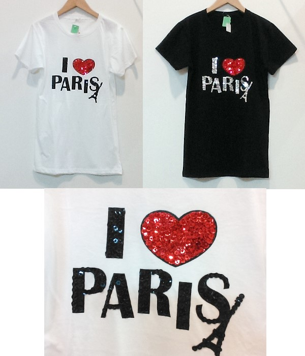 I LOVE PARIS Tee ¥2100+税