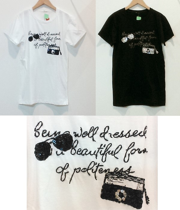 メガネ&カメラ Tee ¥2500+税