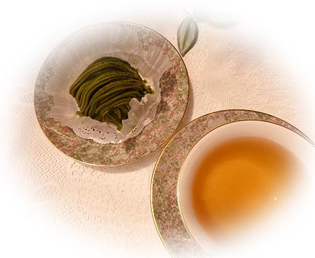 抹茶モンブラン&ダ-ジリンFF