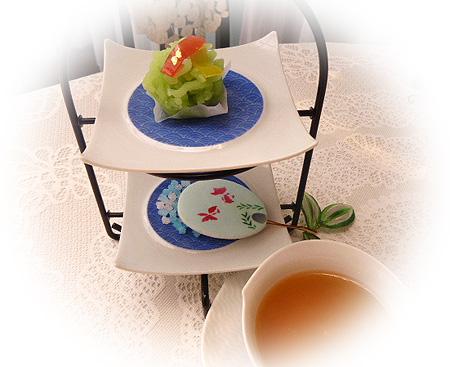 季節の和菓子&シッキム