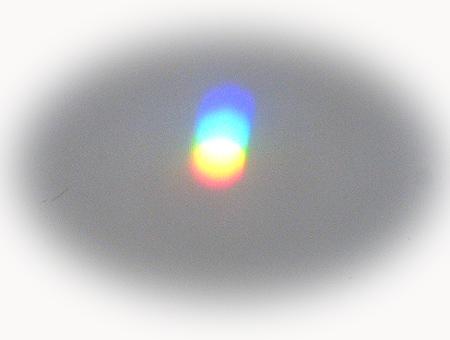サンキャッチャ-の虹色