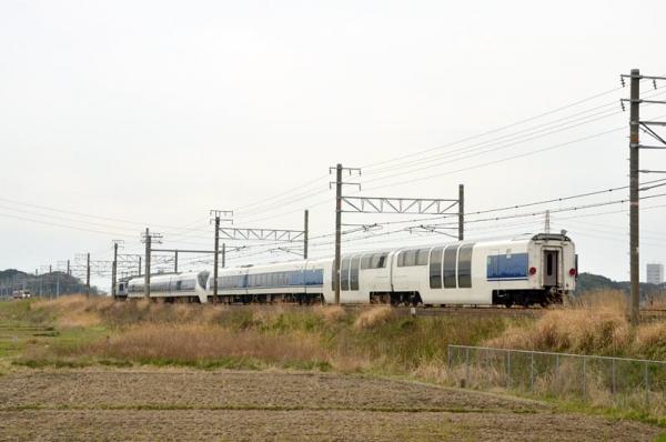371系甲種輸送(2015年3月29日)