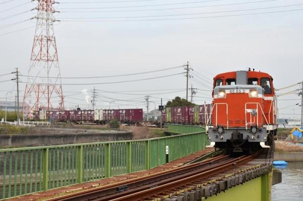 衣浦臨海鉄道半田線551レ(2015年3月20日)