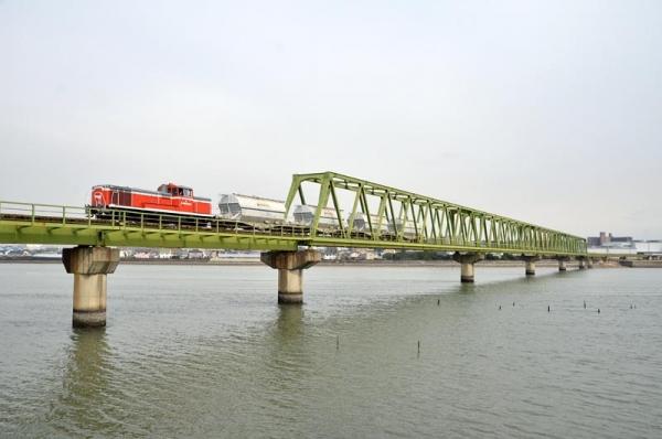 碧南線5573レ(2015年3月20日)