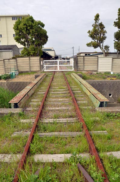西浜松JT専用線跡(2015年4月29日)