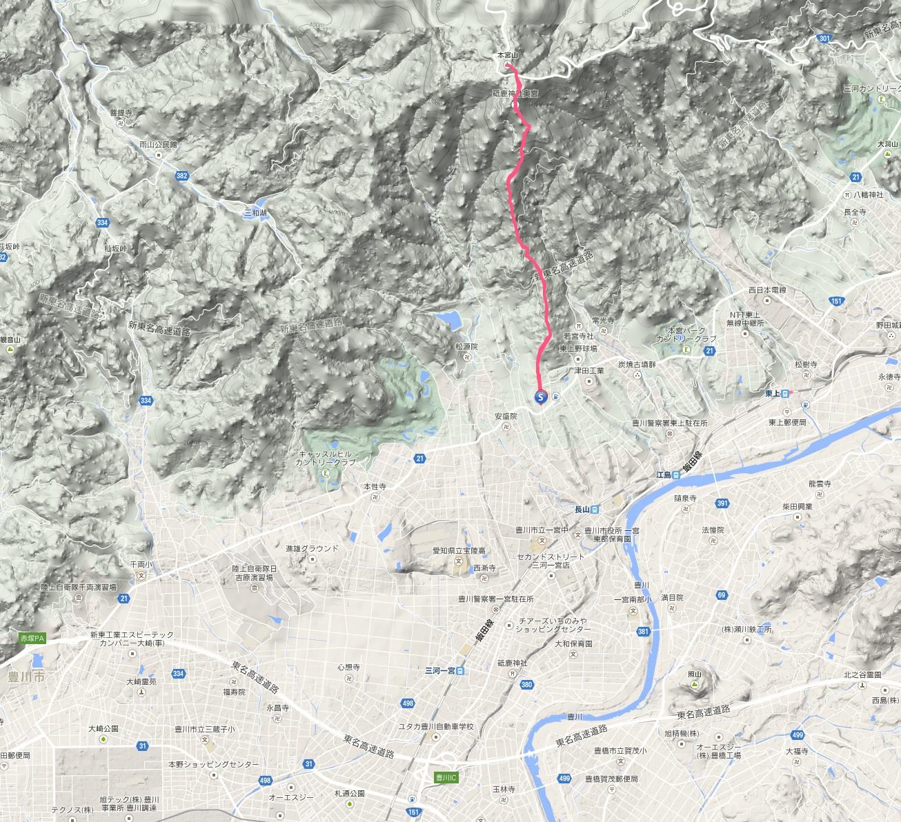 本宮山地図