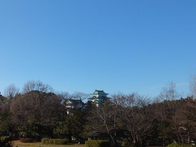 愛知県体育館2Fからの眺め