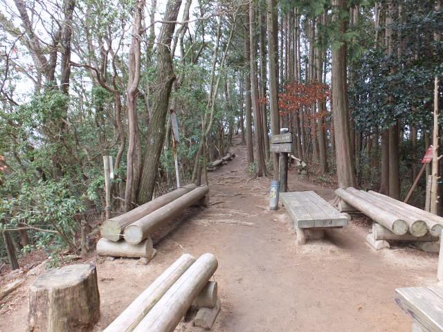 東海自然歩道で下山