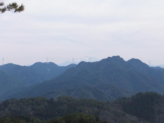 展望岩からの景色