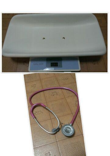 体重計&聴診器