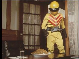 黄レンジャーのカレー2
