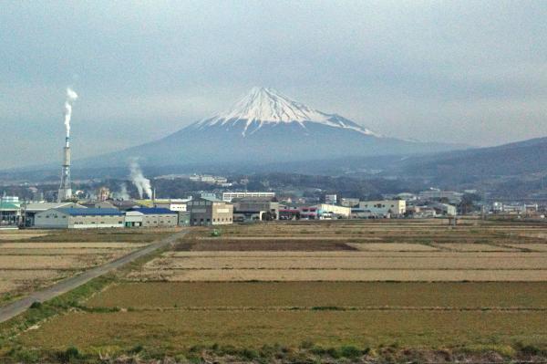 富士山 東海道新幹線から