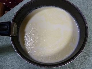 2014年12月農家の牛乳