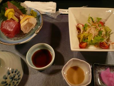 2015年4月宮島の料理1