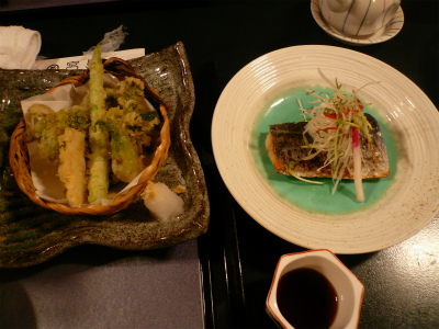 2015年4月宮島の料理2