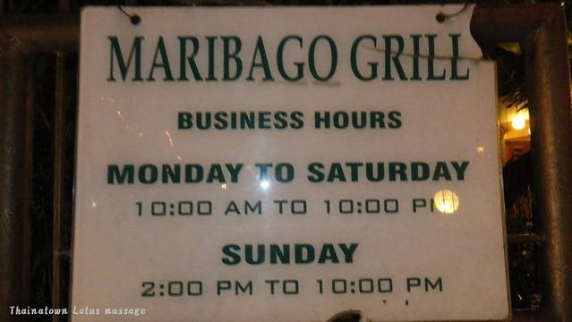 マクタンの有名レストラン=マリバゴグリル