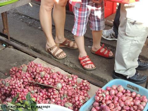 タイ、メークロン市場