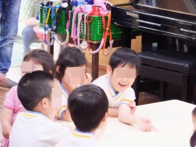 子供の参観日