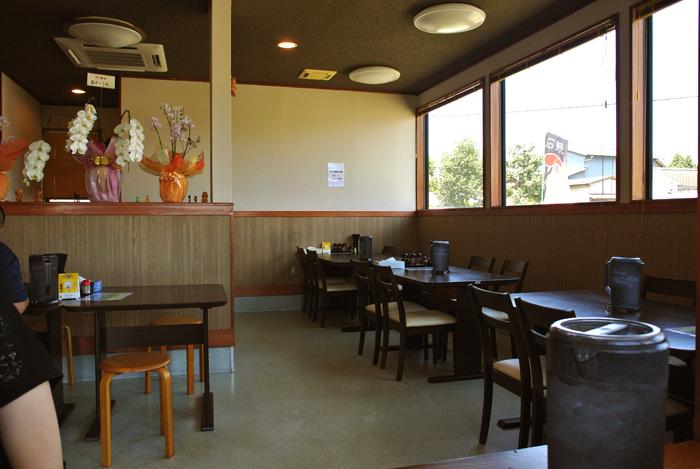 つけ麺 MOUKOKU @鹿沼市上石川 店内