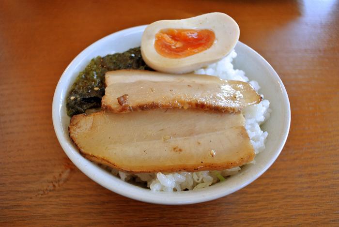 つけ麺 MOUKOKU @鹿沼市上石川 Andy特製チャーシュー丼