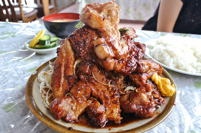 味の店 さつき@鹿沼市上石川 豚ロース・スタミナ焼1