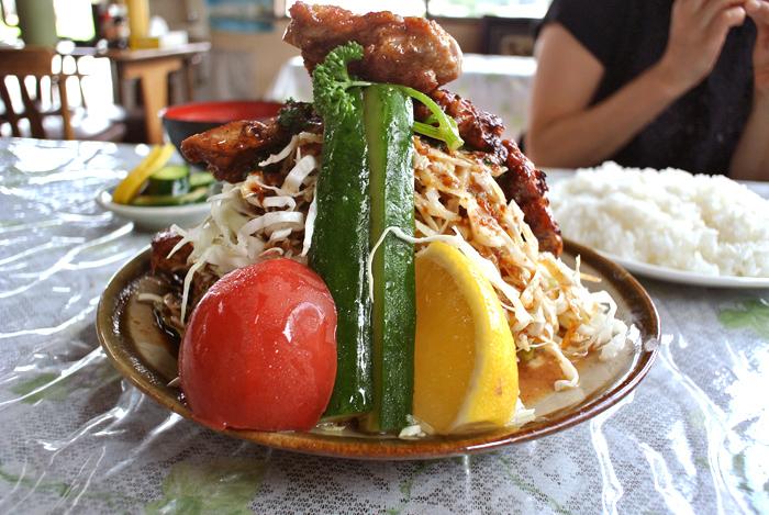 味の店 さつき@鹿沼市上石川 豚ロース・スタミナ焼2
