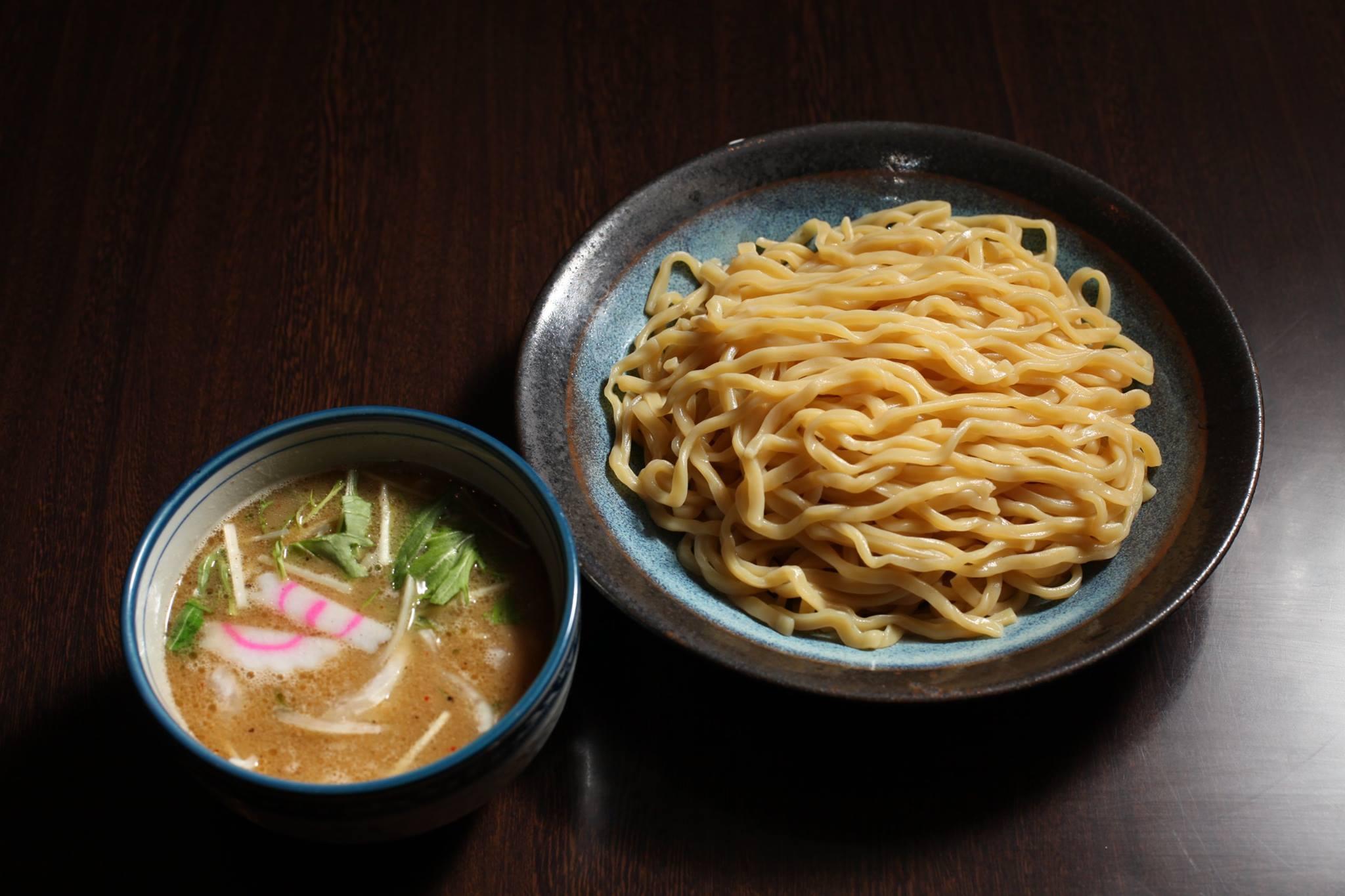 麺彩房中野本店平日夜限定鶏豚塩つけ麺