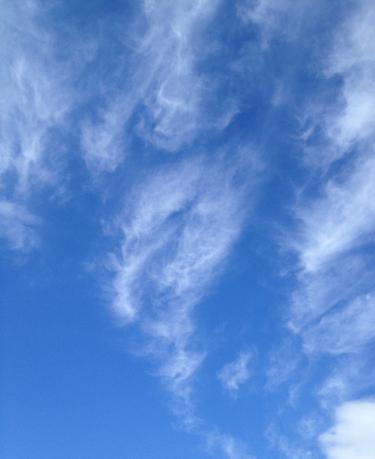 龍神様の雲
