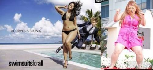 米スポーツ誌に「ぽっちゃり」モデル水着特集と渡辺直美