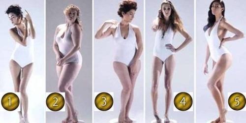 女のモテ体型は時代と共に変化!3000年に渡る5つの理想的な体型画像