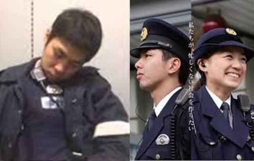 留置所から検察庁連行時や検察庁待合室監視で居眠りしてた警察官も人間