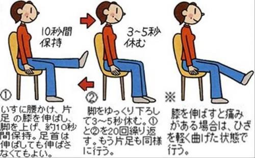 大腿四頭筋で足を痛めた時の膝の運動方法