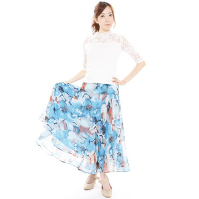 裾ホースヘアダンススカート