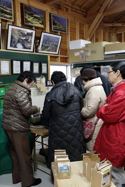 東温市モニターツアー・白猪の滝 150207 04