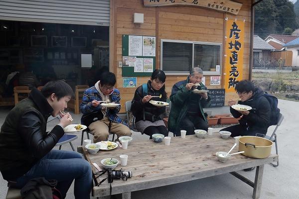 東温市モニターツアー・白猪の滝 150207 05