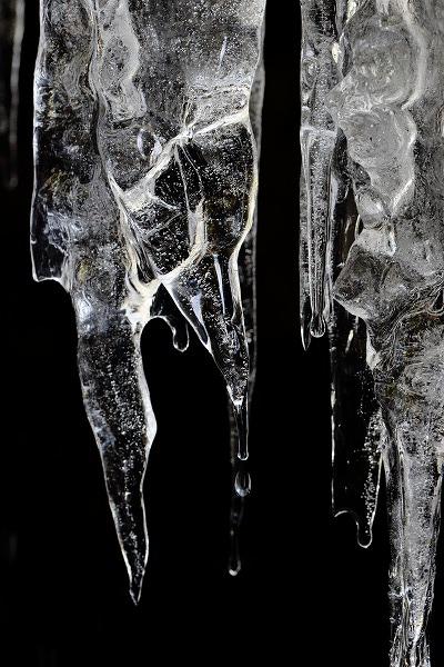 滑川渓谷・前の滝氷柱 150211 030