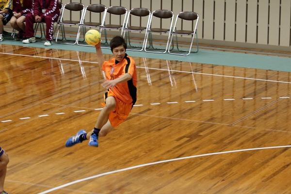 ハンドボール1年生大会・決勝 新田-松中 150215 06